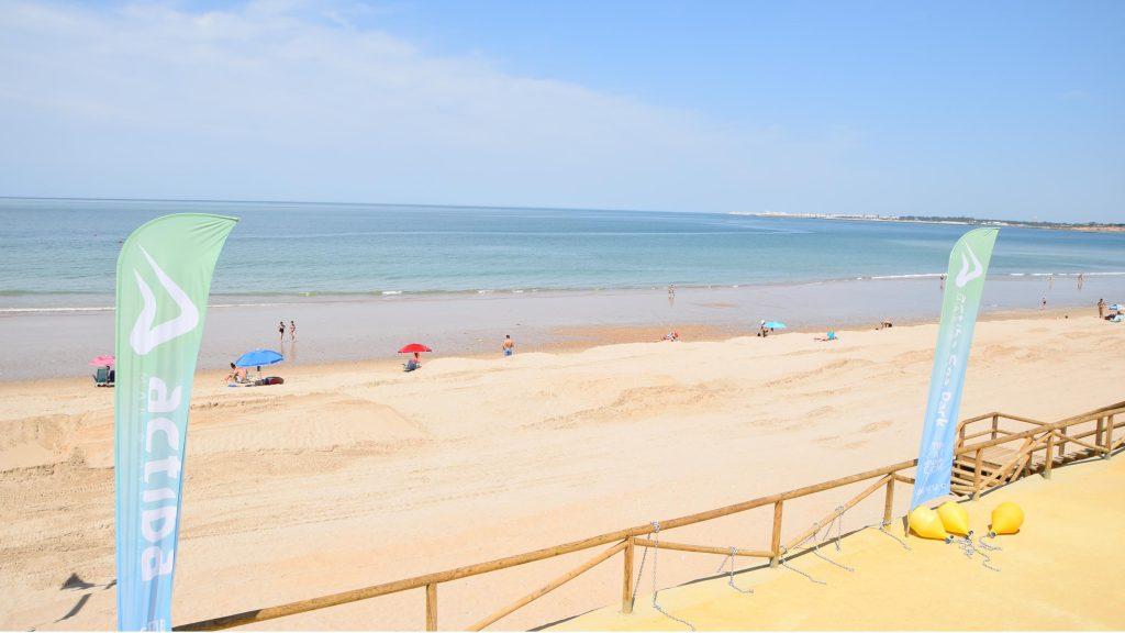 Webcam Playa de Las Redes, en El Puerto de Santa María