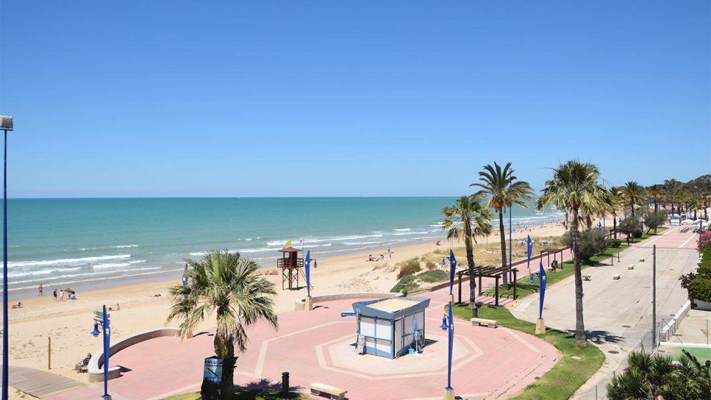 Webcam Playa de La Barrosa, Restaurante El Campanario
