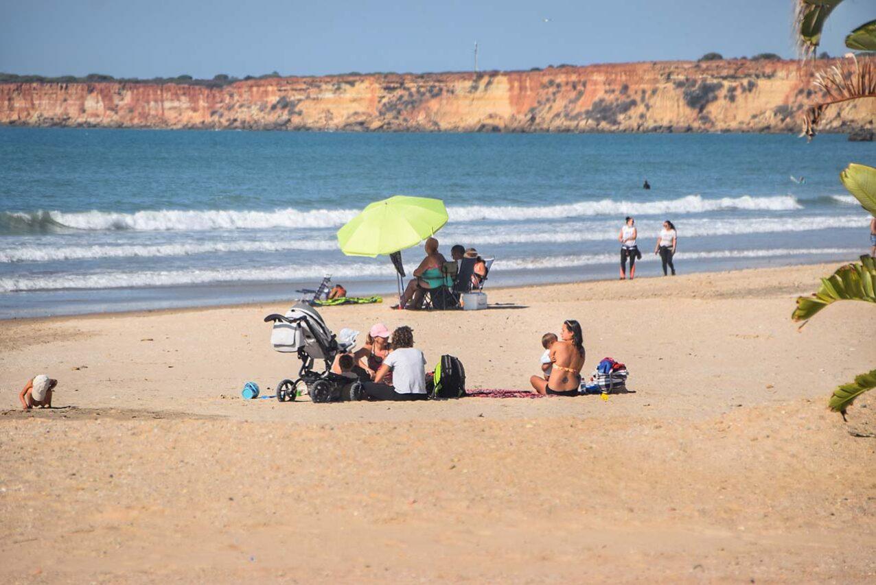 playa de Conil en octubre