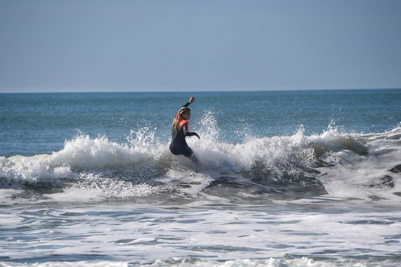 Surf en Cortadura para comenzar diciembre