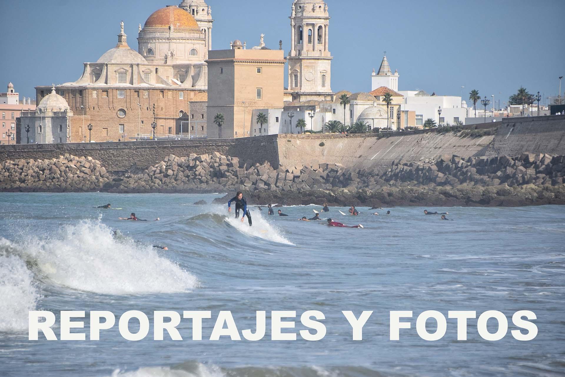 Reportajes y fotos de surf
