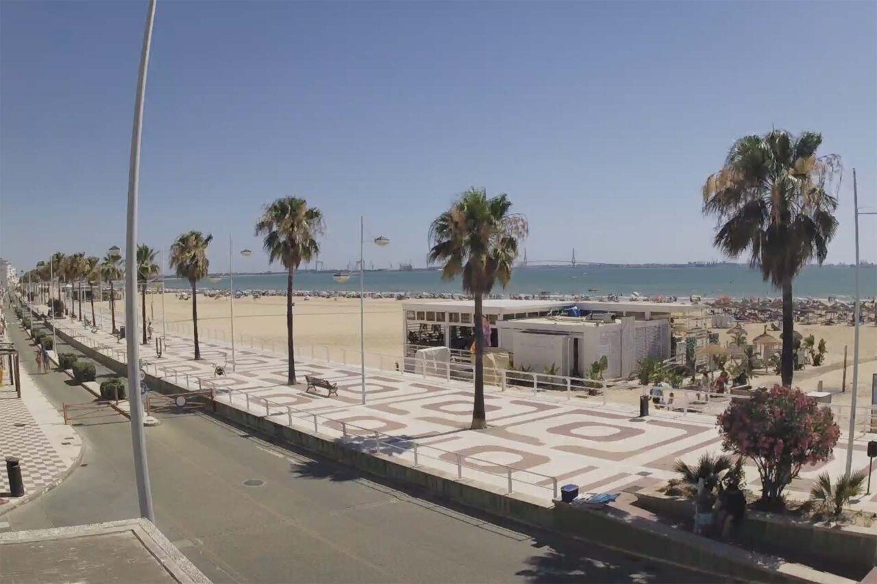 Webcam Playa de Valdelagrana