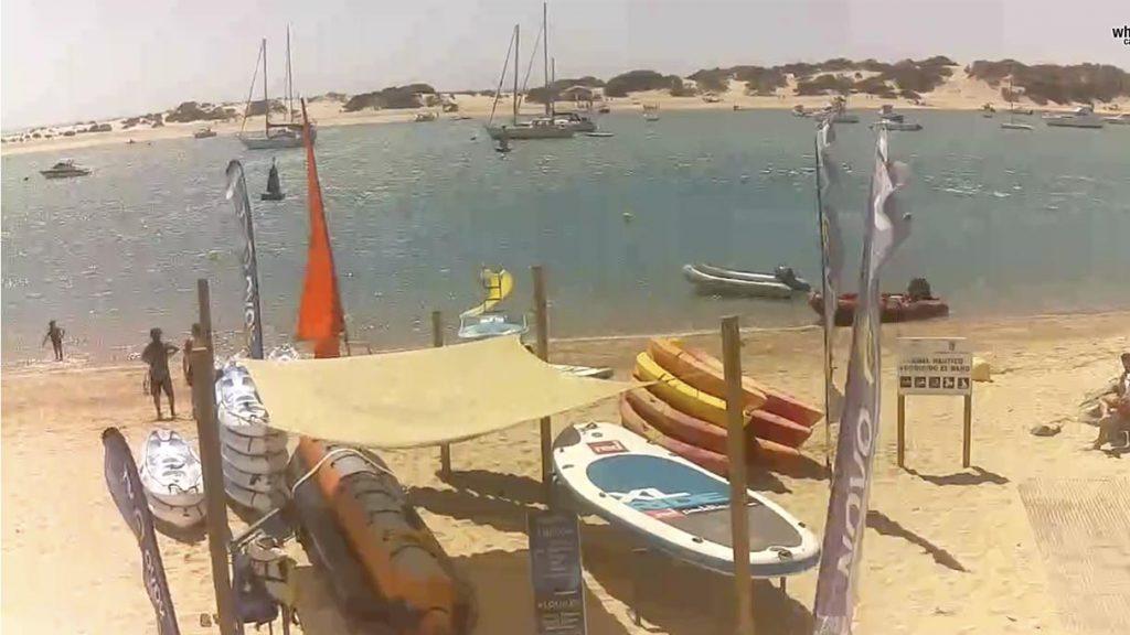 Webcam Playa de Sancti Petri (Novojet)