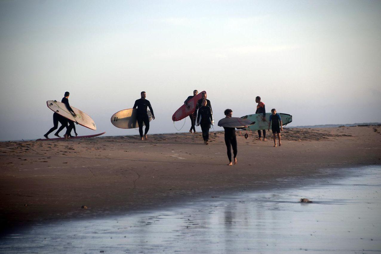 Surf en Santa María