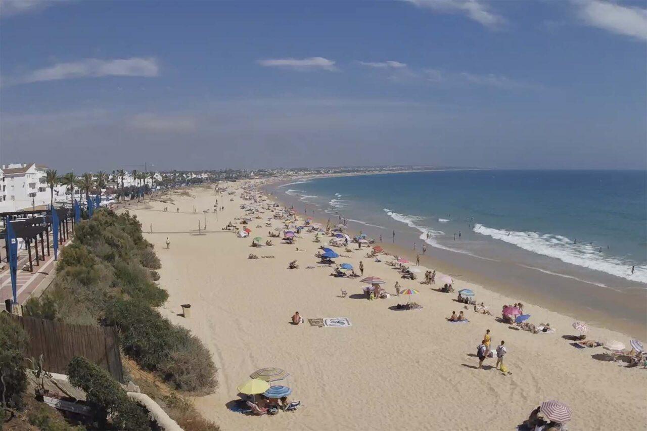 Webcam La Barrosa